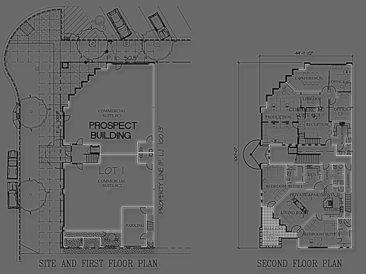Bozeman Prospect Building Floor Plan & Architecture Design