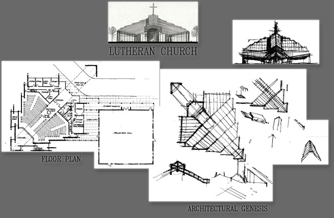King of Kings Lutheran Church Floor Plan & Design