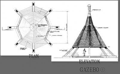 Nakoda Mountain Lodge - Gazebo Plan