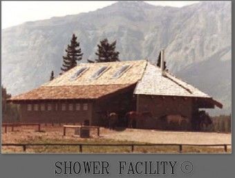 Nakoda Campus Shower Facility