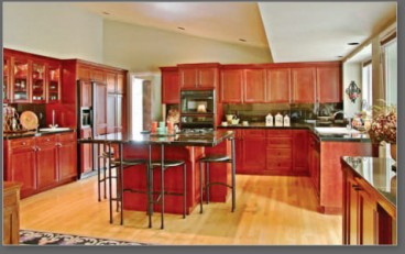 Kitchen Interior Design - Swanson Residential Home Architeture - Bozeman, MT